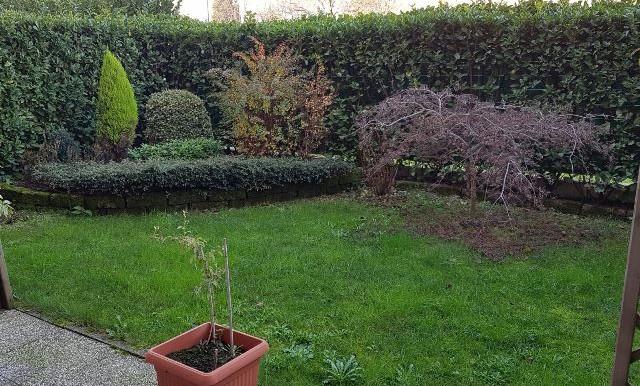 3 locali con giardino privato