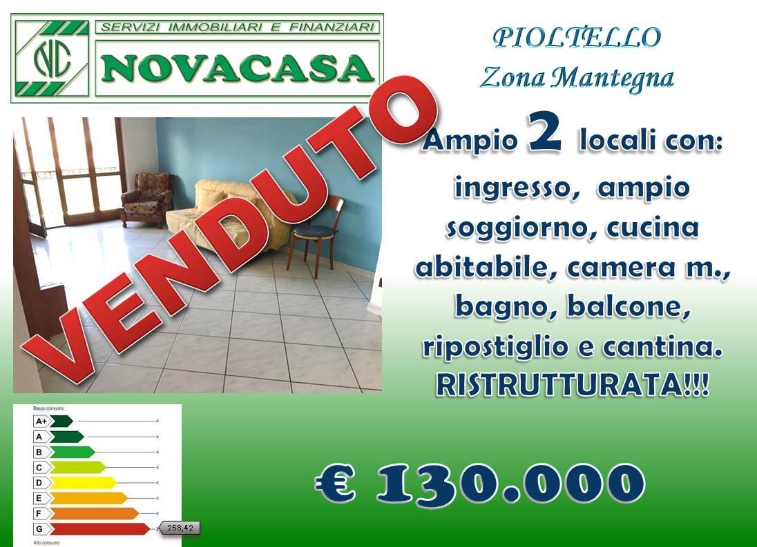 BELLISSIMO ED AMPIO 2 LOCALI A PIOLTELLO
