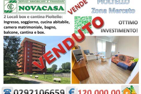 2 LOCALI CON BOX IN ZONA MERCATO PIOLTELLO